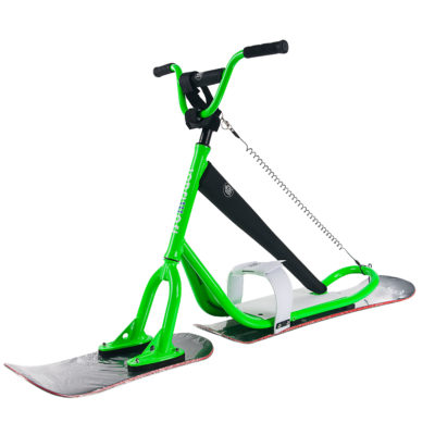 Snowscoot Carving Green